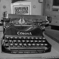 The Old Corona Typewriter