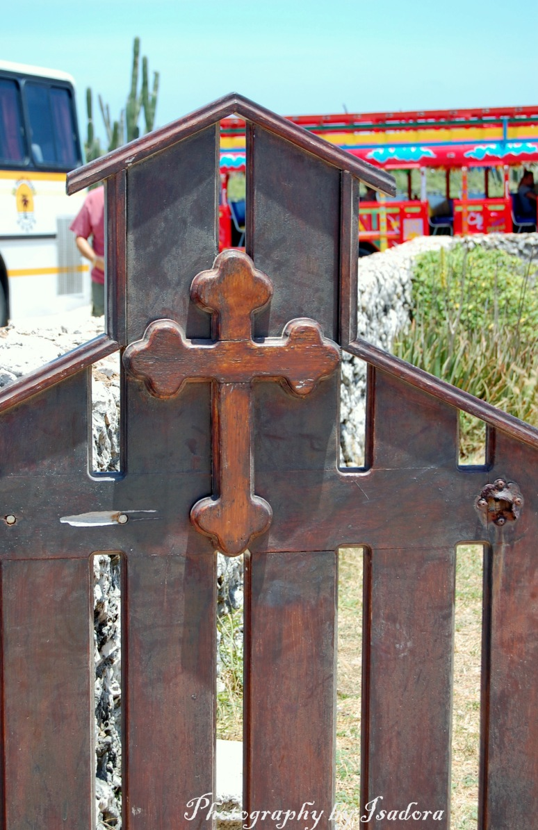 Cross on Fence # 2 web signed
