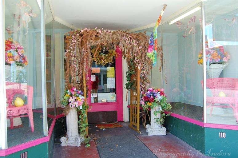 Entrance Flower Shop web signed