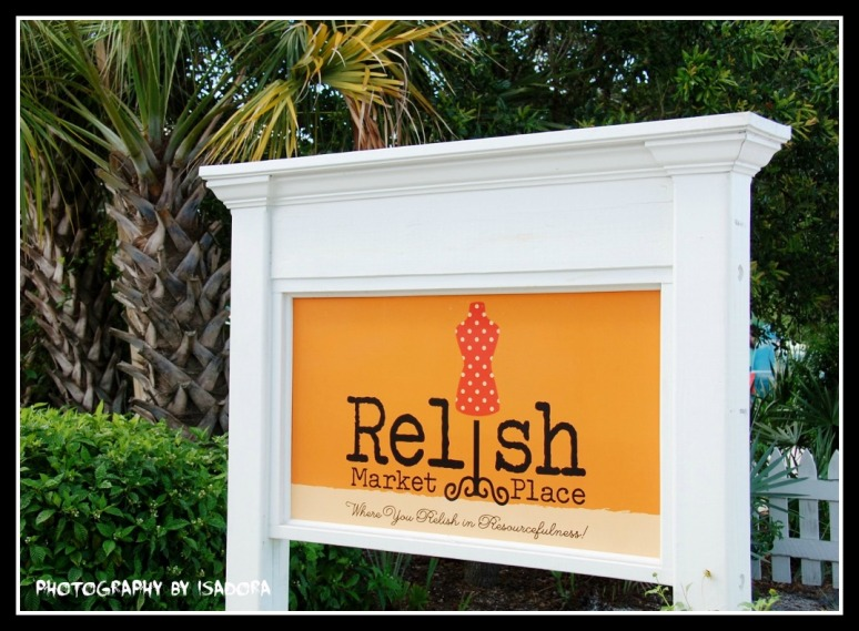 Sign - Relish Market Place web