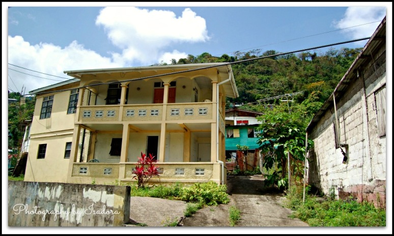 Grenada house with road - 2 web