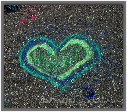 Street Art blue heart.web
