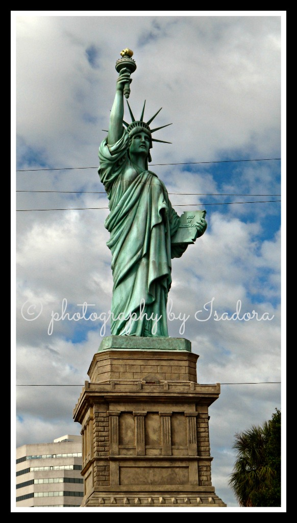Street Art - front of Statue of Liberty.web