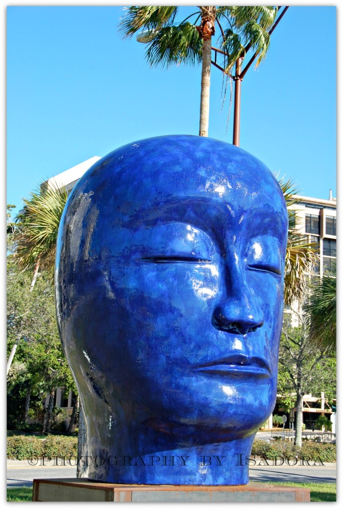 Blue Head Sculpture.web