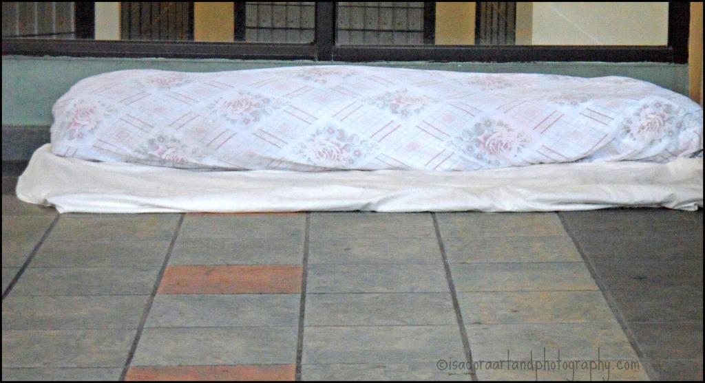 Homeless Man bed.web