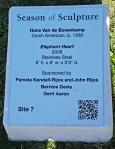 Sculpture plaque Elephant.web
