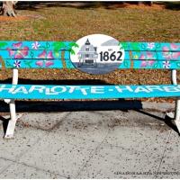 Bench Series March -Wooden - Artwork