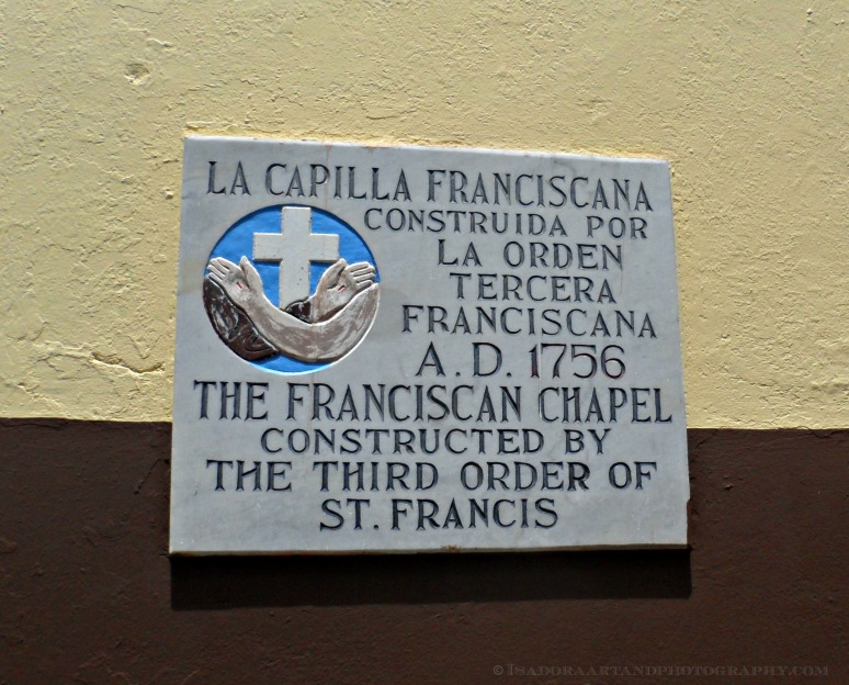 Church sign The Franciscan Chapel.web