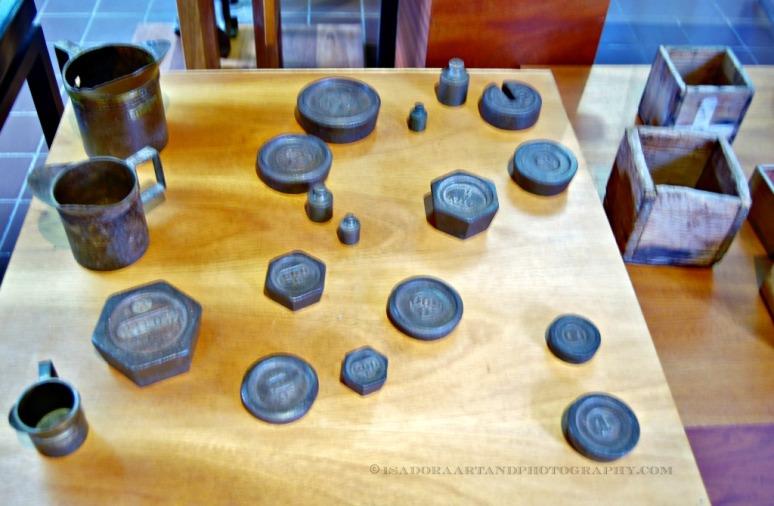 Printing blocks - Aruba Museum
