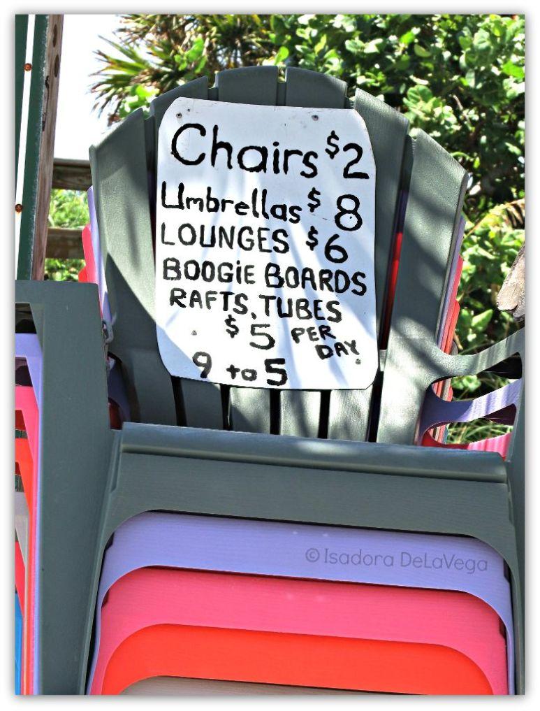 Beach Chair sign.web
