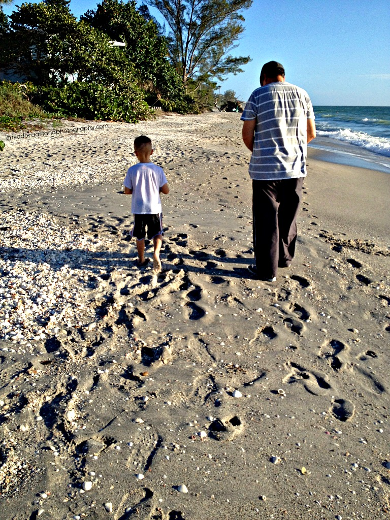 Al & Jeffrey Footprints on the Sand1024.web
