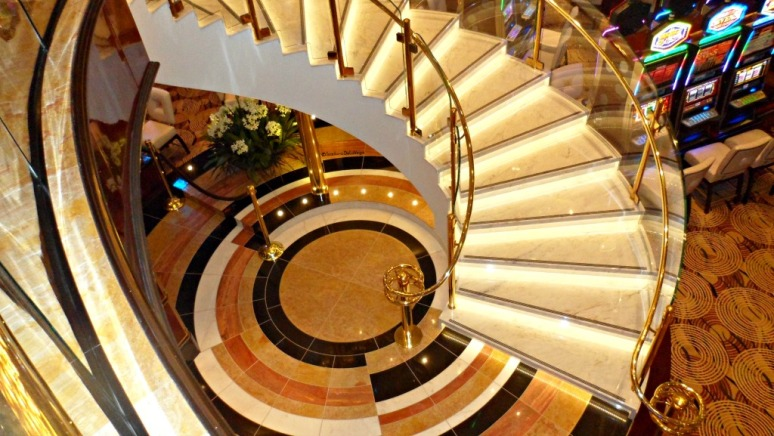 Cruise Royal Princess Stairs.web