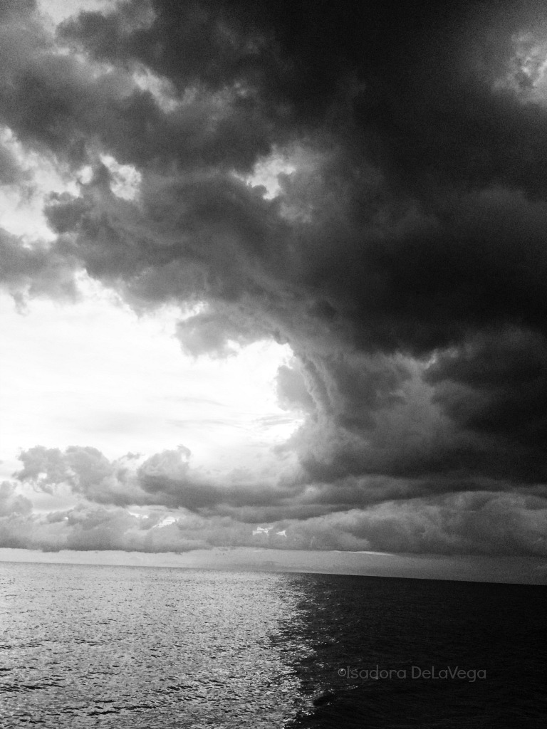 Black & White Sky - storm Venice.web