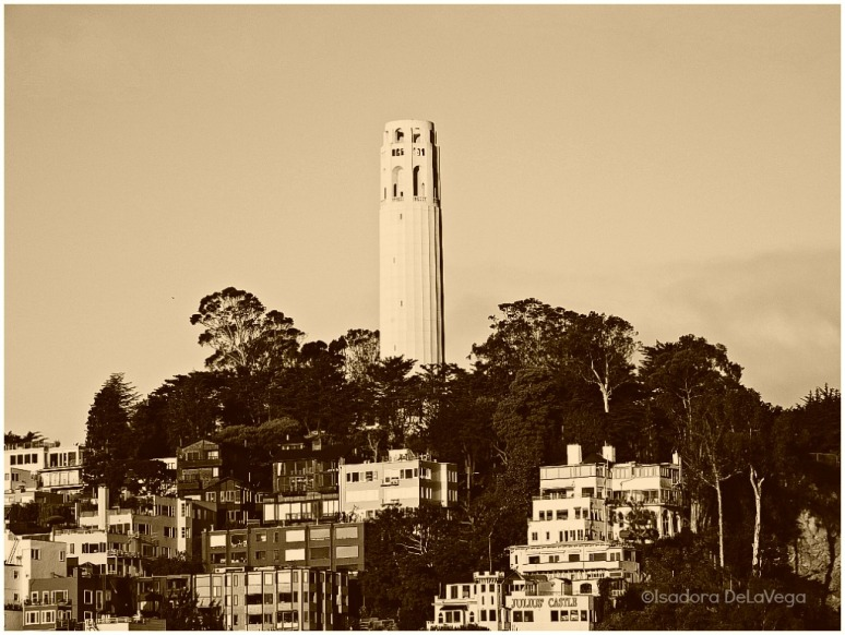 San Francisco Bok Tower Sepia.web