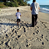Wordless Wednesday - Footprints in the Sand