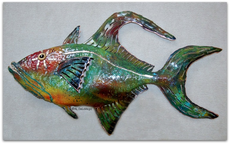 Copper - Queen Trigger Fish.web